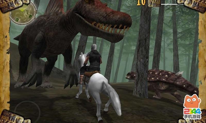 恐龙动物园游戏图片