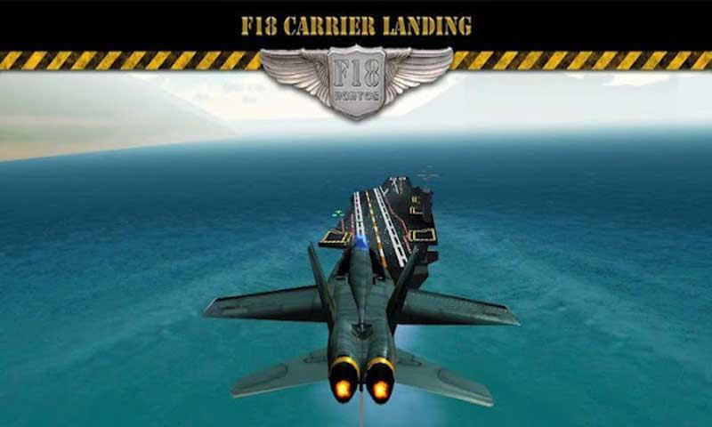 F18 Carrier Landing(F18模拟起降)是一款逼真的F18模拟飞行游戏。喷气式飞机在航母上起降是一个相当有难度的挑战任务,整个航空母舰供你降落的甲板也就150多米,对于笨重又告诉的喷气式飞机来说是非常难的。游戏特色:任务系统:享受6种不同的任务,体验下美国海军飞行员的生活;从简单的开始,只需要从航母上起飞,然后降落到地面上的空军机场上;不同的气候条件下的起降(风、雨、雾)和不同的时间(黎明、阴天、晚上)。