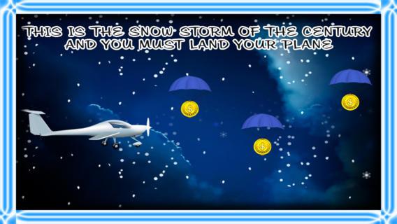 冬季暴风雪飞机飞行五月天:雷达失去了机场